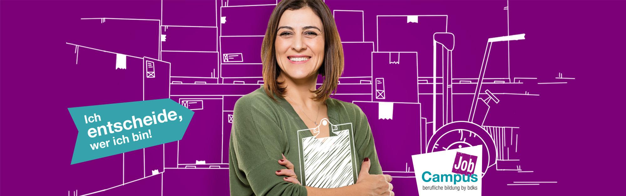 Key Visual bdks JobCampus Vermarktungskampagne